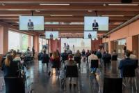 23 aprile 2021 - Cermonia di inaugurazione Campus Mendrisio - 46