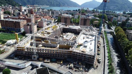 Campus Est USI-SUPSI Lugano-Viganello, 2019