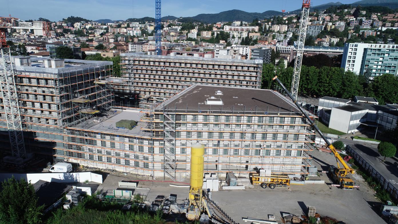 Campus Est USI-SUPSI Lugano-Viganello, giugno 2019